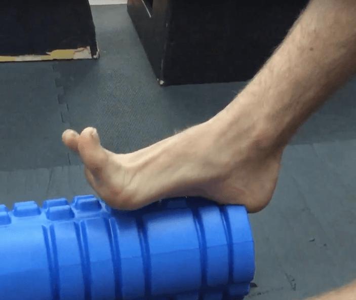 Foam Roller Übungen Waden 1