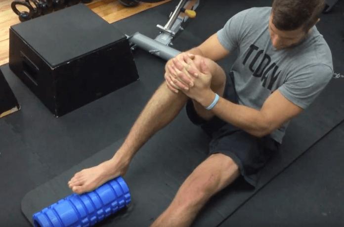 Foam Roller Übungen Waden 2
