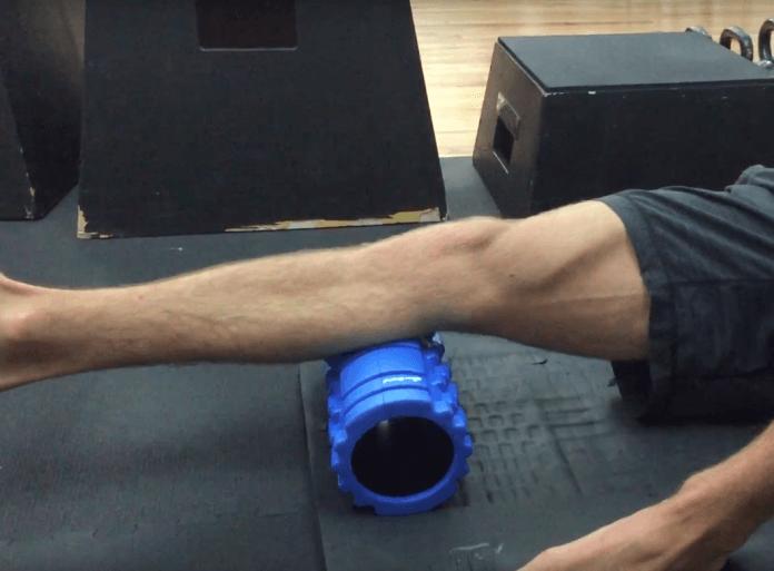 Foam Roller Übungen Waden 3