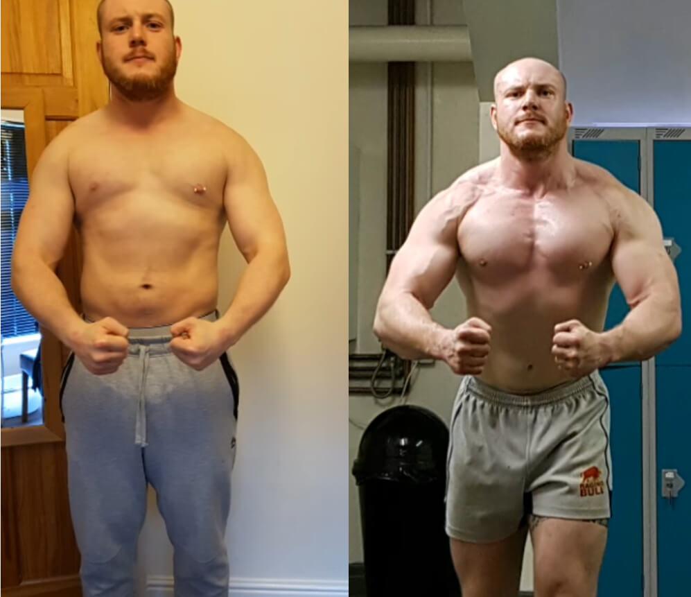 Transformation 10 Wochen Steroide
