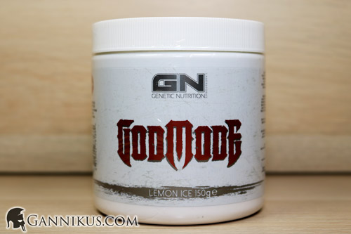 Genetic Nutrition Laboratories God Mode Hardcore Booster