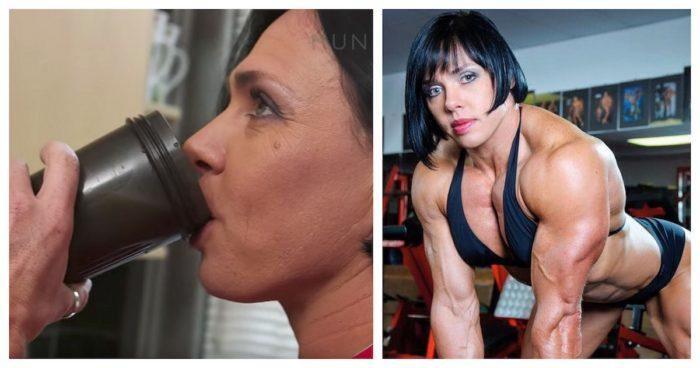 haehnchen-reis-shake-bodybuilderin-bringt-meal-prep-auf-das-naechste-level