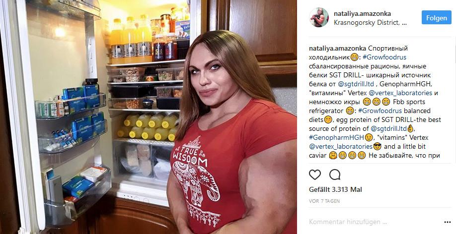 Nataliya Kuznetsova Bodybuilderin