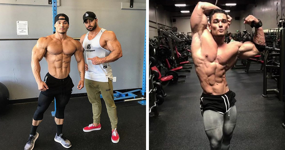 jeremy buendia bereits 5 5 wochen vor dem mr olympia 2017. Black Bedroom Furniture Sets. Home Design Ideas