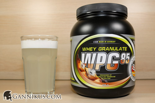 Supplement Union WPG-85 Whey Granulat Geschmack