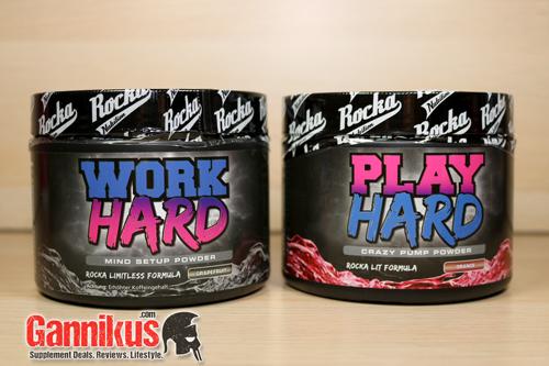 Rocka Nutrition Work Hard kaufen