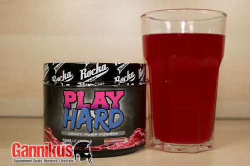 Rocka Nutrition Play Hard Geschmack