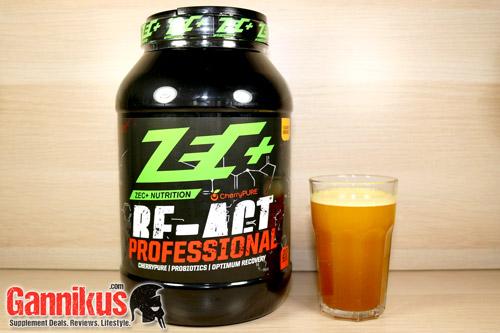 ZEC+ Re-Act Professional Geschmack