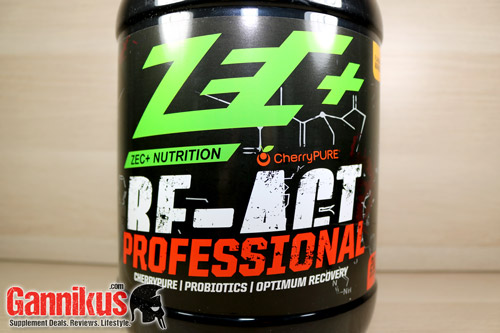 ZEC+ Re-Act Professional Post Workout Drink