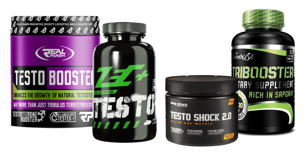 Testosteron Booster Überkategorie