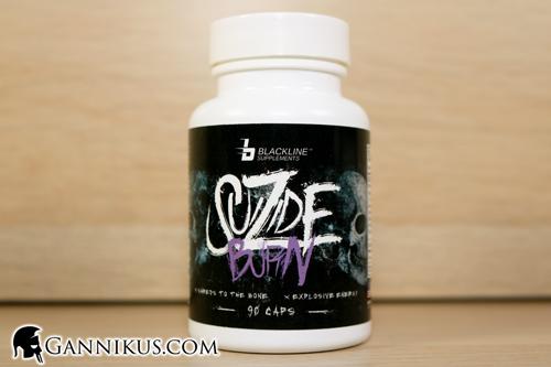 Blackline Supplements Suizide Burn Fatburner