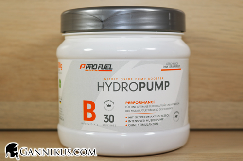 Profuel Hydropump Muskeldurchblutung
