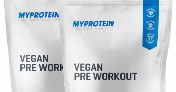 myprotein bringt vegan pre workout auf den markt. Black Bedroom Furniture Sets. Home Design Ideas