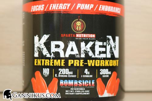 Sparta Nutrition Kraken Erfahrung