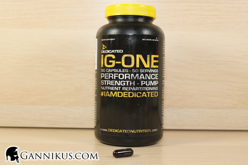 Dedicated Nutrition IG-One Wirkung