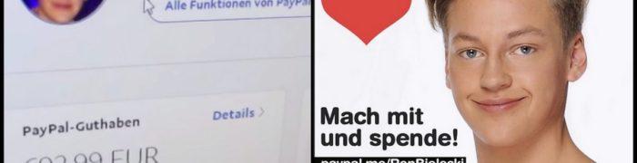 ron-bielecki-startet-spendenaufruf-fuer-gucci-schuhe