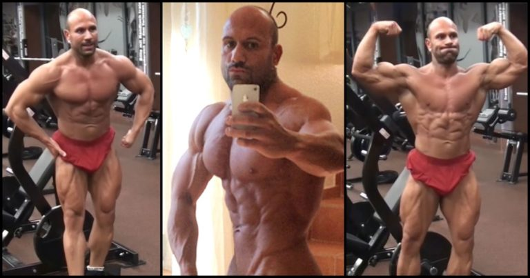 Artemus Dolgin supposedly before and after 1 5 years off the gear