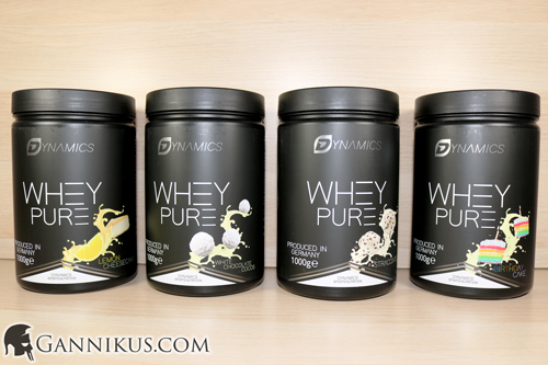 Dynamics Nutrition Whey Pure Erfahrung