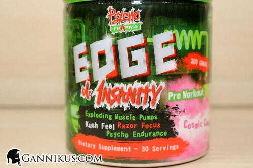 Psycho Pharma Edge of Insanity Erfahrung