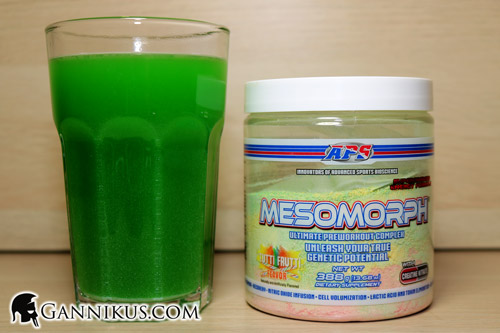 APS Nutrition Mesomorph Geschmack