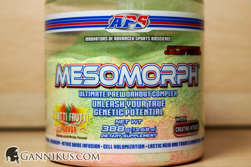 APS Nutrition Mesomorph Erfahrung