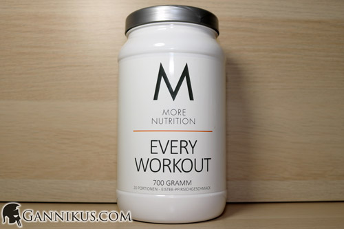 More Nutrition Every Workout Booster