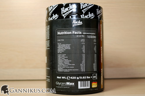 Rocka Nutrition Science Pre Erfahrung