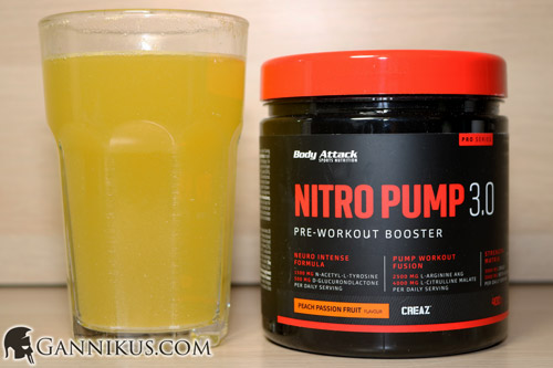 Body Attack Nitro Pump 3.0 Erfahrung