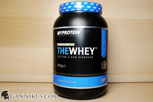 MyProtein The Whey Erfahrung