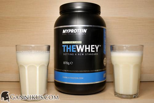 MyProtein The Whey Geschmack