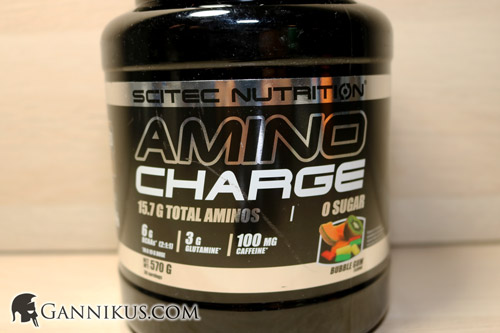 Scitec Nutrition Amino Charge Erfahrung
