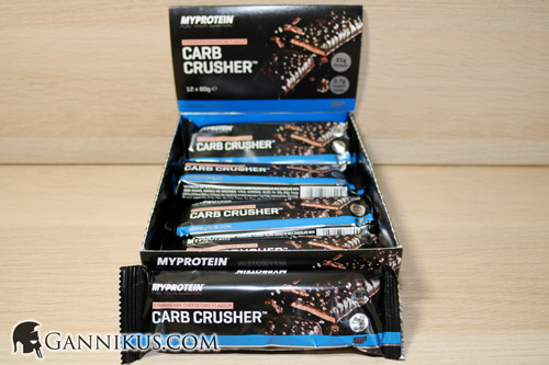 Myprotein Carb Crusher Riegel