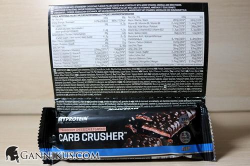 Myprotein Carb Crusher Naehrwerte