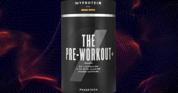 the pre workout myprotein pr sentiert neuen booster. Black Bedroom Furniture Sets. Home Design Ideas
