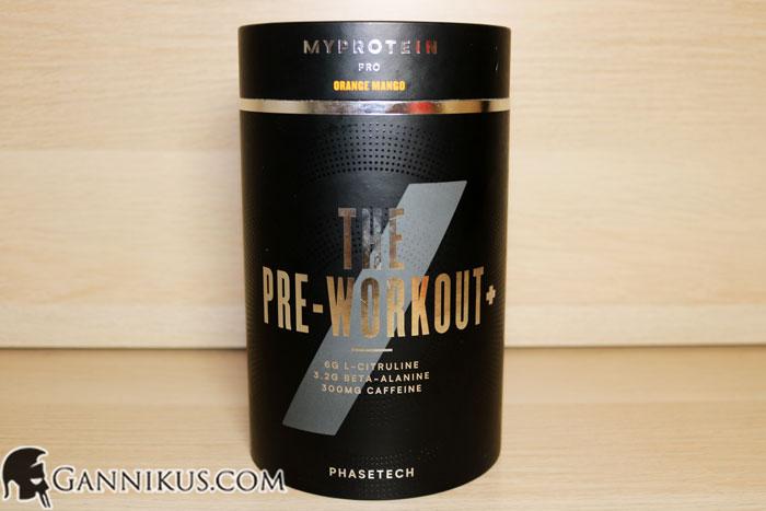 Myprotein The Pre-Workout+ Erfahrung