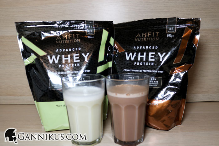 Amfit Nutrition Advanced Whey Protein lecker