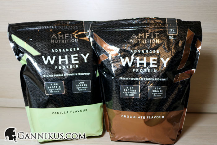 Amfit Nutrition Advanced Whey Protein Erfahrung