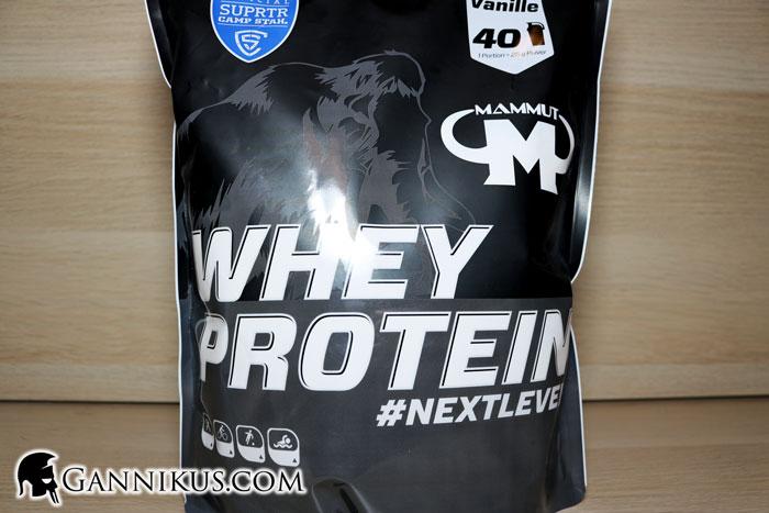 Mammut Nutrition Whey Protein Erfahrung