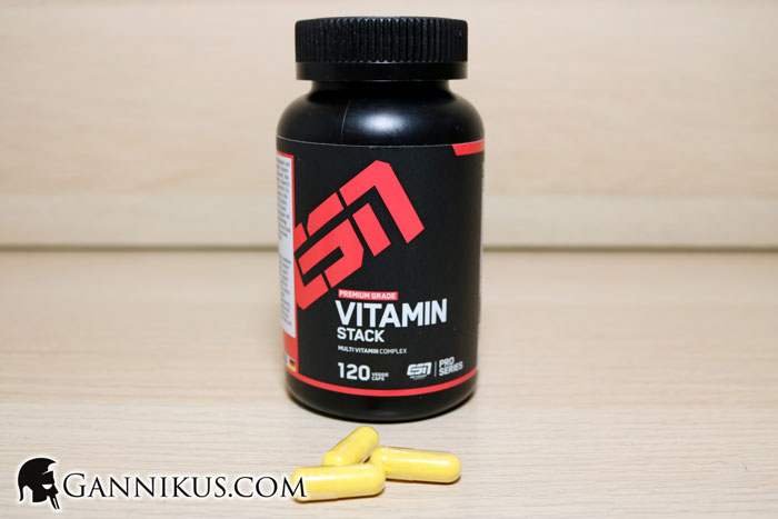 ESN Vitamin Stack Erfahrung
