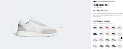 adidas: adidas Originals I 5923 ab 51,98€ ohne VSK
