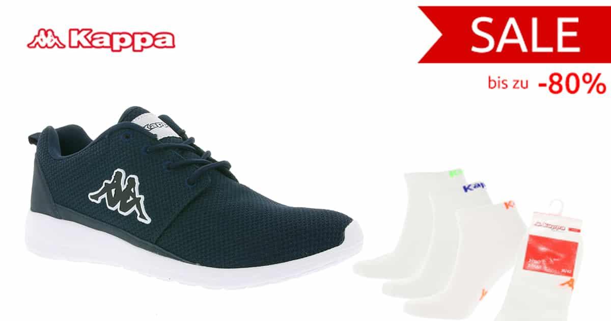 low priced 1efe2 248c5 Outlet46: Kappa Schuhe und Bekleidung ab 2,99€ (3er Pack ...