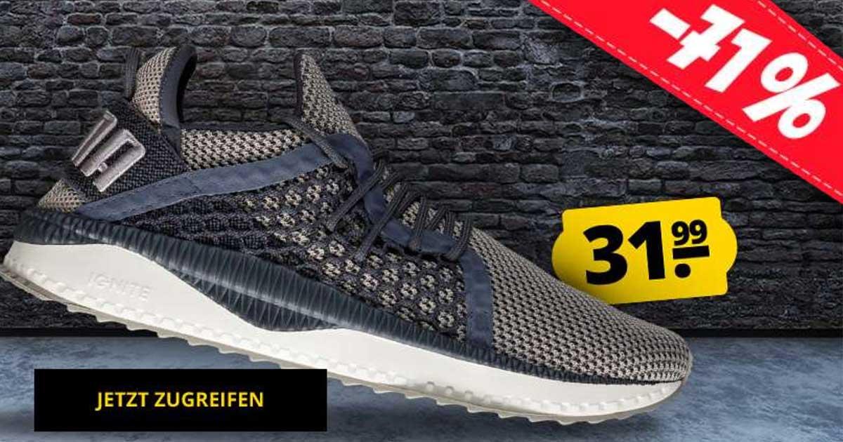 Puma: 71% Rabatt auf TSUGI Netfit Ignite Sneaker (31,99