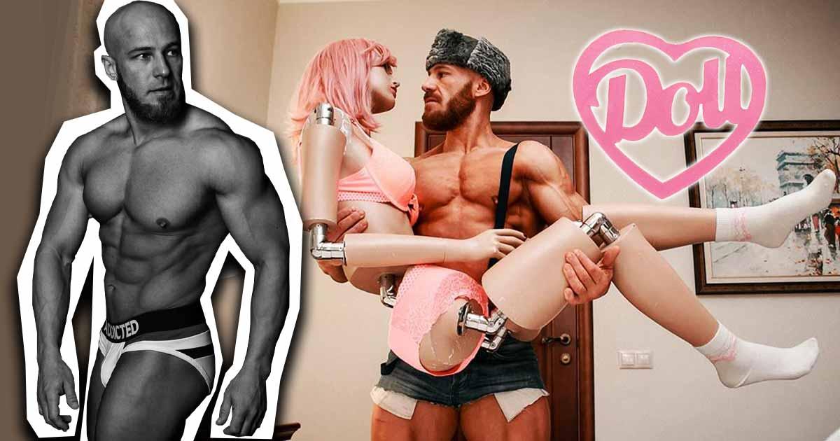 Titelbild: Bodybuilder heiratet seine Sexpuppe