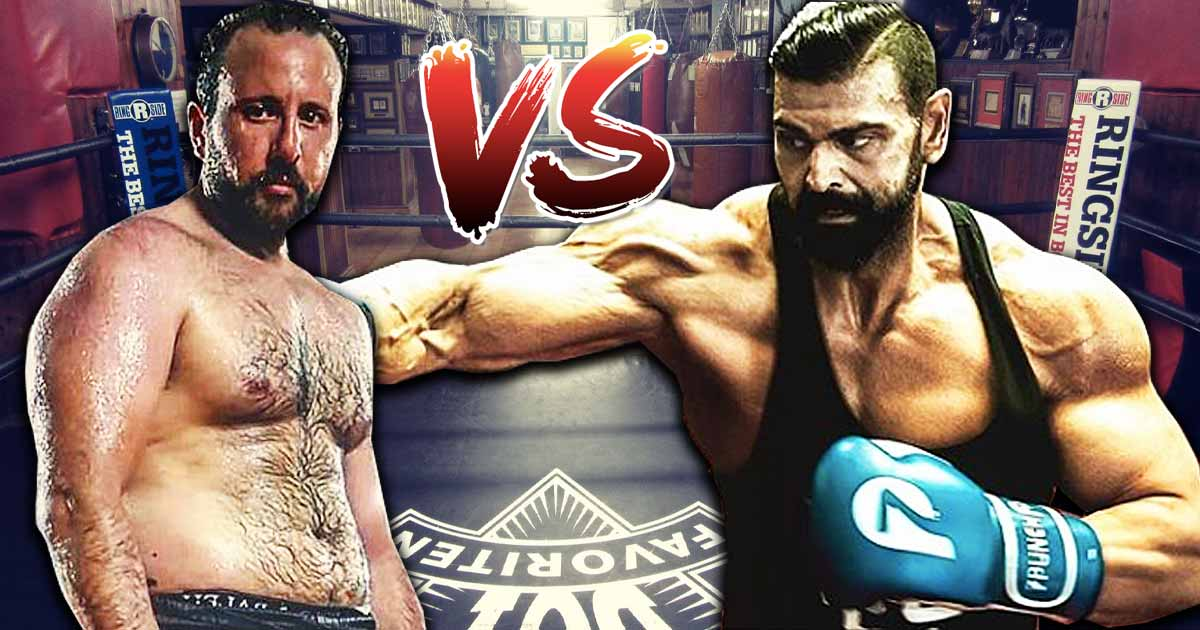 Titelbild: Vito vs. Uncle Bob im K1-Kampf