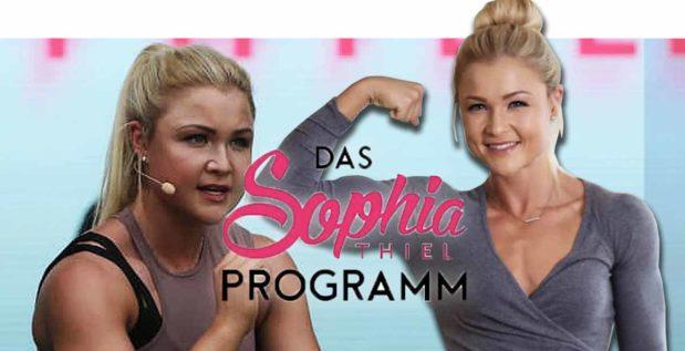 Titelbild: Will Sophia Thiel mit Fitnessprogramm an die Öffentlichkeit?