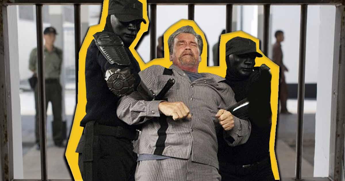 Titelbild: Für diesen Wettkampf ging Arnold Schwarzenegger ins Gefängnis