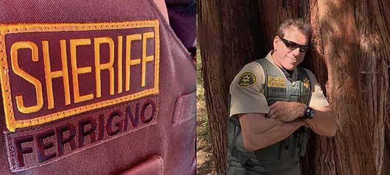 Bild: Lou Ferrigno in Sheriff-Uniform
