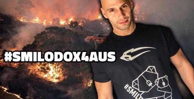 Titelbild: Smilodox startete Spendenaktion, um Australien zu unterstützen