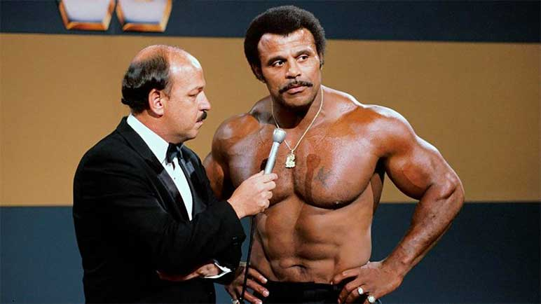 Bild: Rocky Johnson als Wrestler