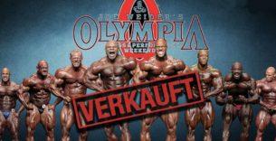 Titelbild: Mr. Olympia verkauft